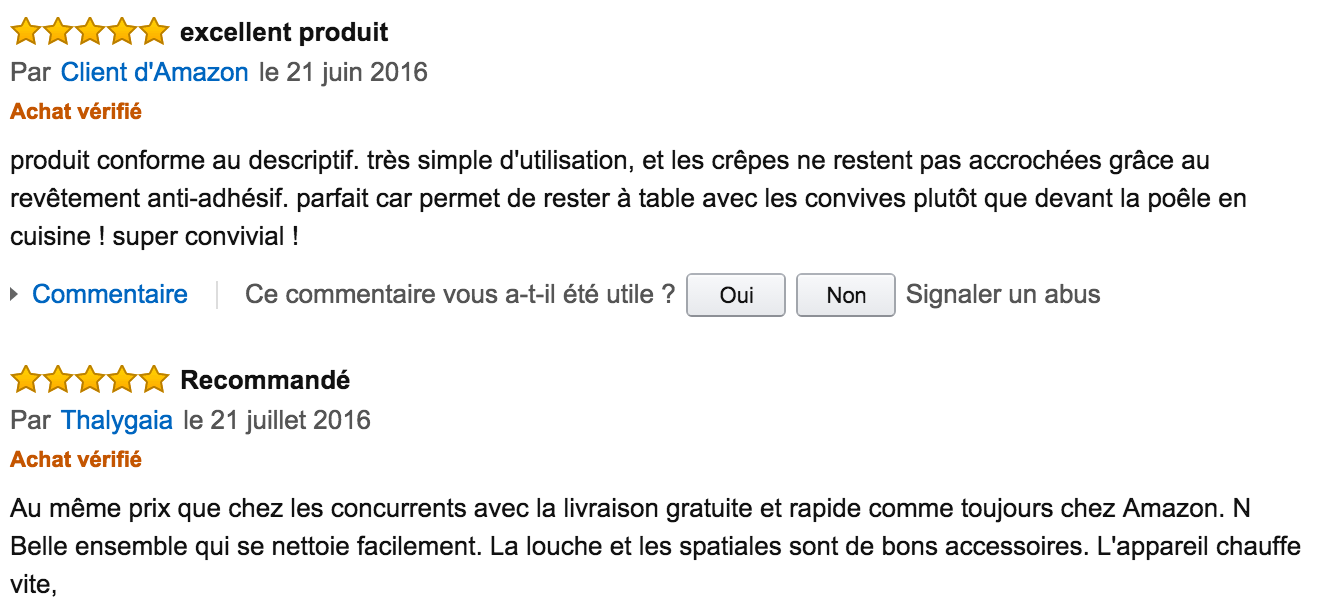 commentaire tefal inox party